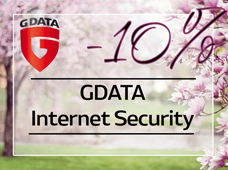 GData Internet Security 10% март