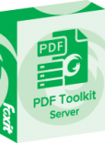 Foxit PDF Toolkit Server